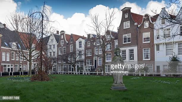 Row of houses, Amsterdam, holland