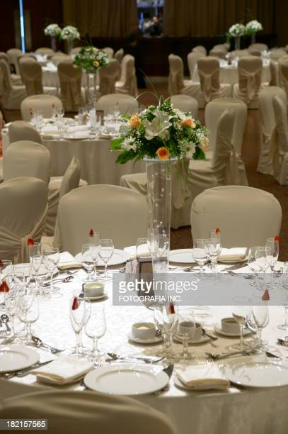 Row of Party tables