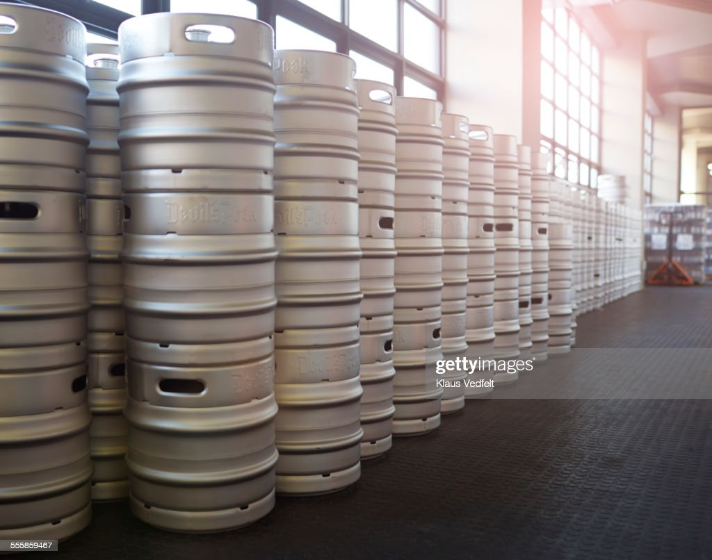 Stacked Barrel Vat Vineyard Wine Old Wine Stock Photos &- Stacked ...