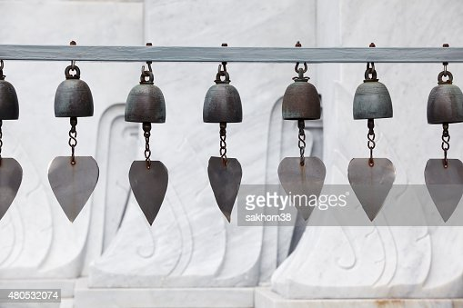 row of tradition bell : Stockfoto