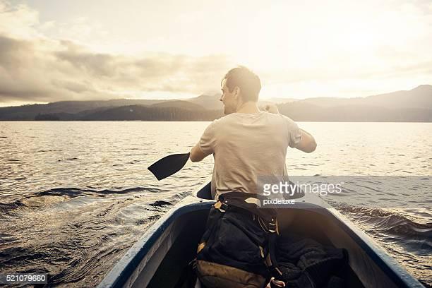 Zeile Zeile Zeile Sie Ihr Boot in Paradies