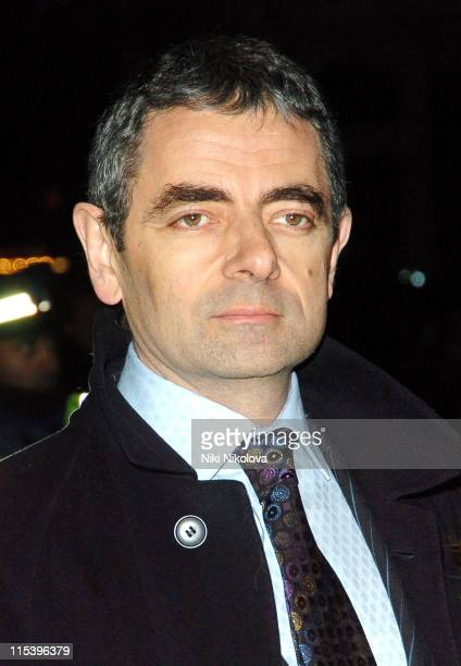 Rowan Atkinson during 'Keeping Mum' London Premiere at Vue Cinema Leicester Square in London Great Britain