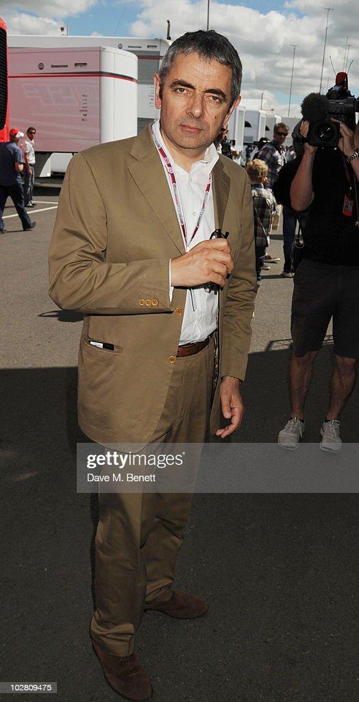 Celebrities Attend Formula One British Grand Prix