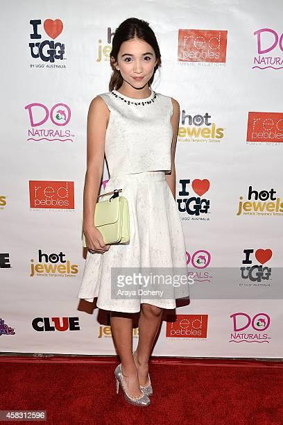 Rowan Blanchard celebrates her 13th Birthday on November 2 2014 in Los Angeles California