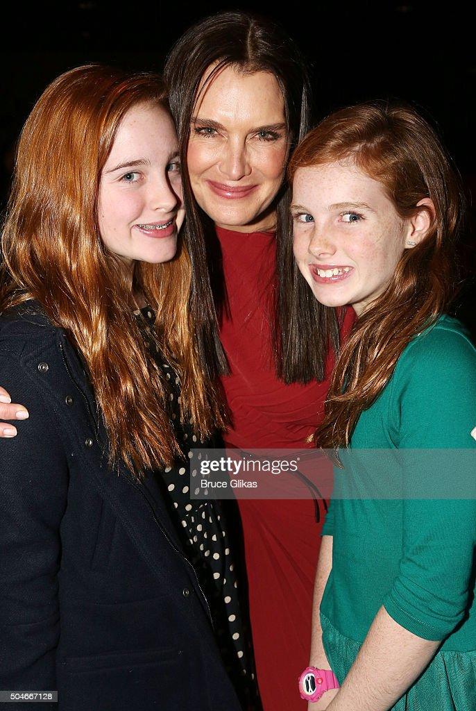Celebrities Visit Broadway - January 11, 2016