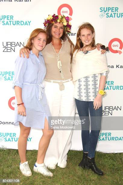 Rowan Henchy Brooke Shields and Grier Henchy attend the 20th Annual Super Saturday to benefit the Ovarian Cancer Research Fund Alliance at Nova's Ark...