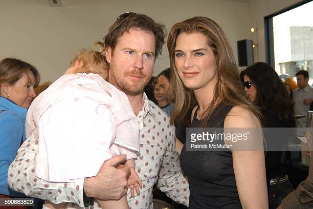 Rowan Henchy Chris Henchy and Brooke Shields attend John Varvatos' 3rd Annual Stuart House Charity Benefit at John Varvatos Boutique on March 5 2005...