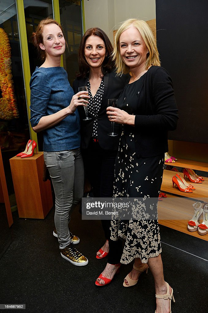 Rupert Sanderson Cocktail Party Hosted By Mariella Frostrup