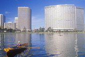Rowboat on Lake Merritt Oakland California