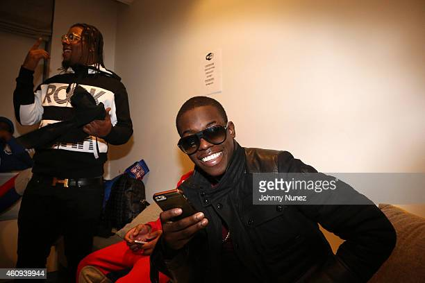 Rowdy Rebel and Bobby Shmurda attend BET's '106 Party' at BET Studios on December 12 in New York City