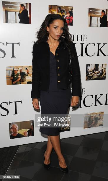 Rowena King arrives for the UK Premiere of The Bucket List at the Vue West End London