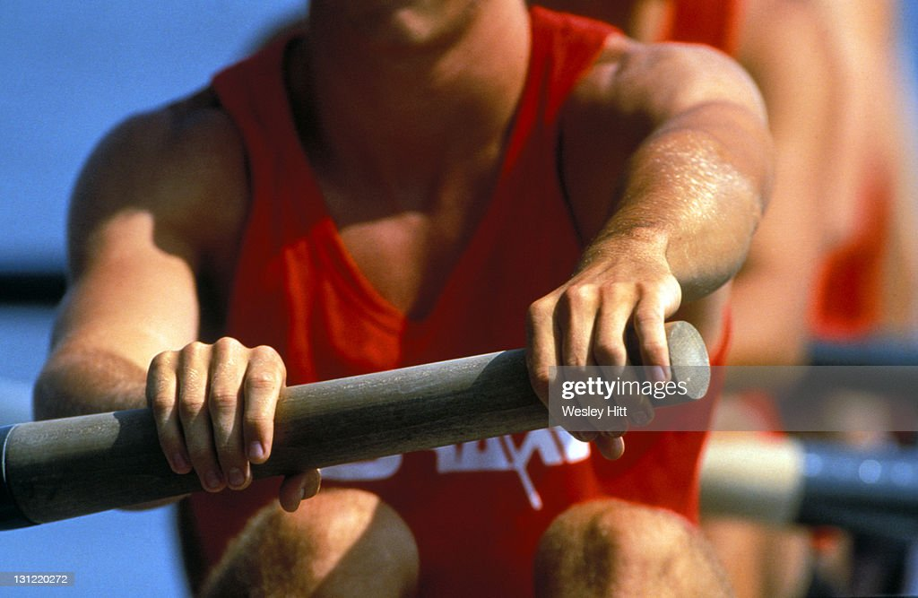 Rower at work : Stock Photo