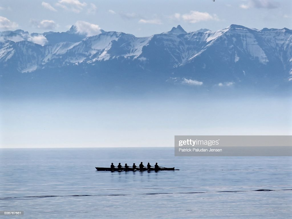 Rowers at Bodensee