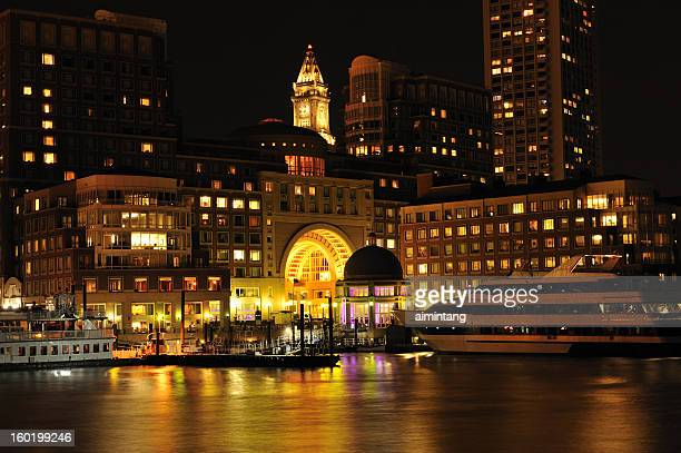 Rowes Wharf at Night