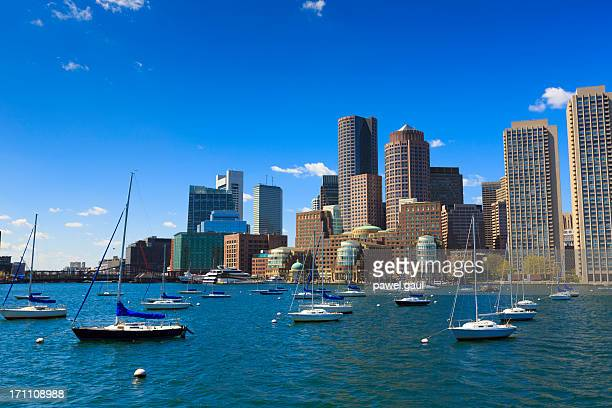 Rowe's wharf marina in Boston