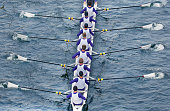 Rowing eights.
