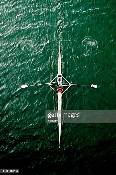Rowing into the dark