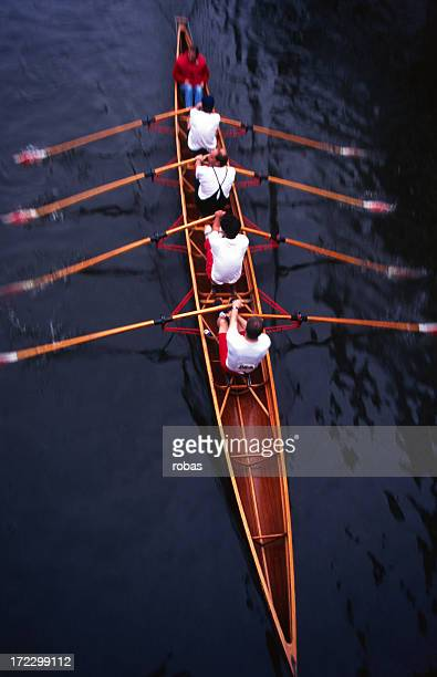 Rowing (motion blur