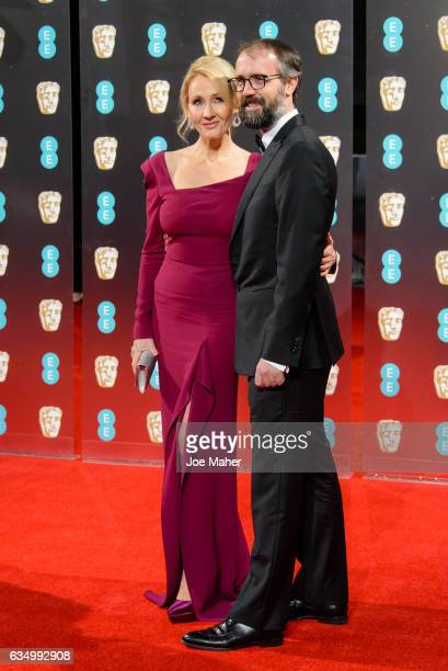 K Rowling and Neil Murray attend the 70th EE British Academy Film Awards at Royal Albert Hall on February 12 2017 in London England