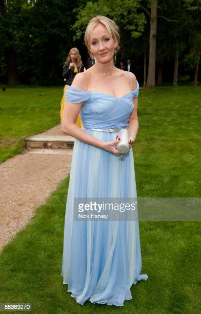 Rowling arrives at the Fourth Annual Fundraising Gala Dinner for the Raisa Gorbachev Foundation at the Stud House Hampton Court Palace on June 6 2009...