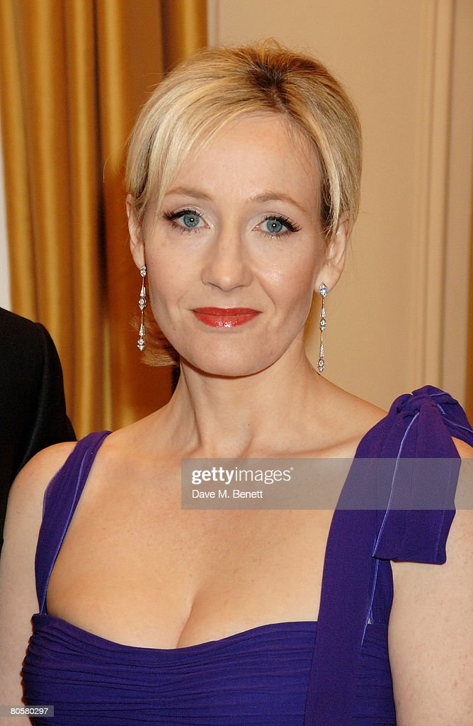 JK Rowling arrives at the Galaxy Book Awards, at the Grosvenor House Hotel on April 9, 2008 in London, England.