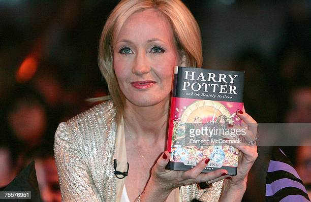 Rowling Launches Seventh and Final Harry Potter Book 21 July 2007 in the Natural History Museum London