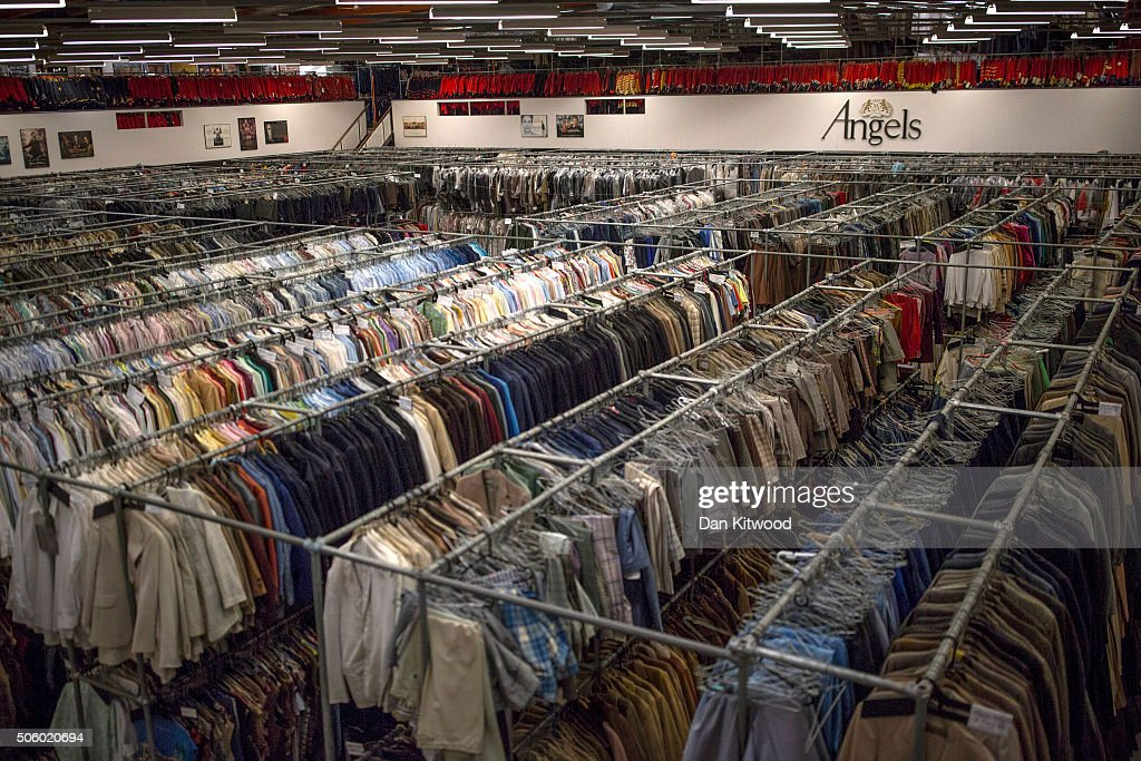Rows of clothing are hung in the stockroom at Angels Costume House on January 20, 2016 in London, England. Angels Costumes established in 1840 is in its 175th year, and is the longest-established and largest professional costume house in the world. The costumiers is to receive the 'Outstanding British Contribution to Cinema Award' at the EE British Academy Film Awards ceremony at Londons Royal Opera House on Feb 14, 2016.