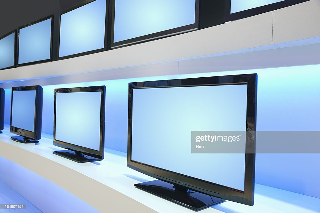 Rows of TV Screens