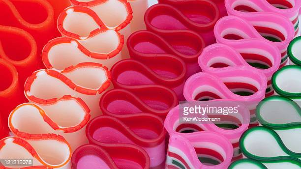 Rows of Ribbon Candy