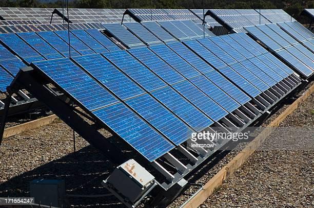 Reihen von Solarzellen