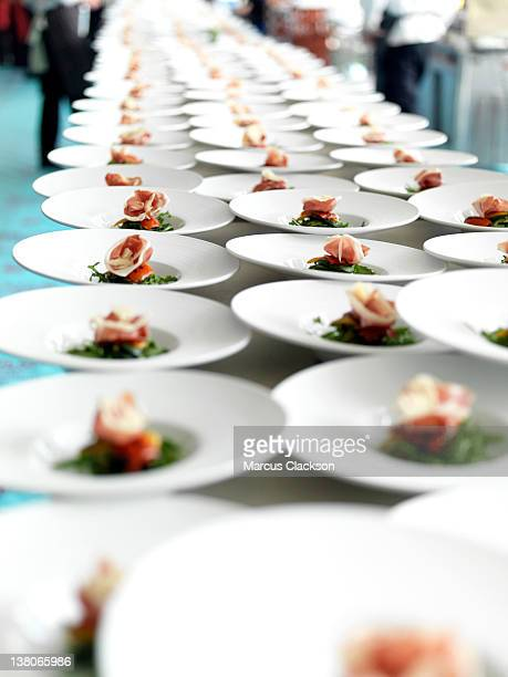 Rows of Starters for the Banquet