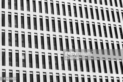 Rows of windows : Stock Photo
