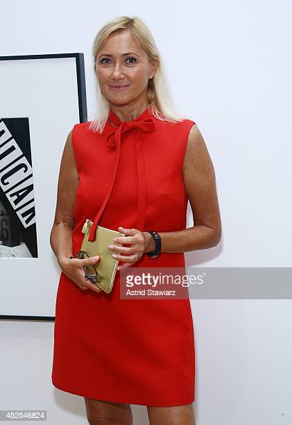 Roxana Marcoci Curator in the Department of Photography at The Museum of Modern Art attends 'Christopher Williams The Production Line of Happiness'...