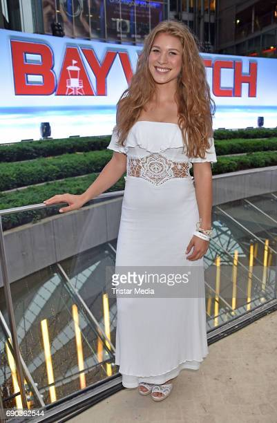 Roxana Strasser during the Baywatch European Premiere Party on May 31 2017 in Berlin Germany