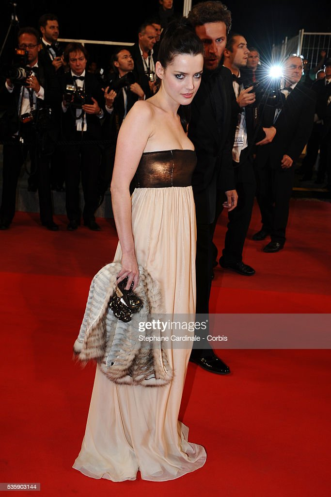 Roxane Mesquida at the premiere of 'Kaboom' during the 63rd Cannes International Film Festival.