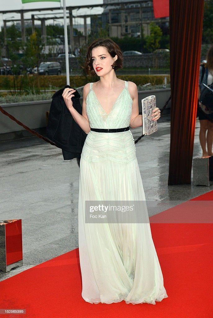 Roxane Mesquida attends 'La Cite Du Cinema' Launch - Red Carpet at Saint Denis on September 21, 2012 in Paris, France.