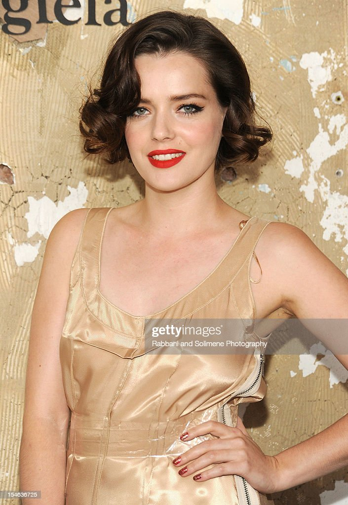 Roxane Mesquida attends the Maison Martin Margiela with H&M global launch event at 5 Beekman on October 23, 2012 in New York City.