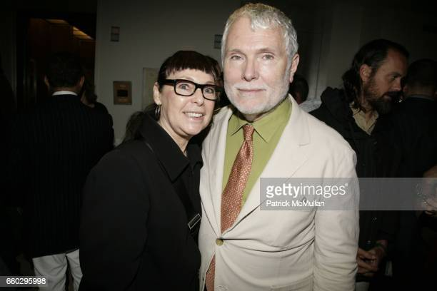 Roxanne Lowit and Glenn O'Brien attend Party to Celebrate GQ Creative Director JIM MOORE's CFDA Award at Barneys New York Mens Store on June 11 2009...