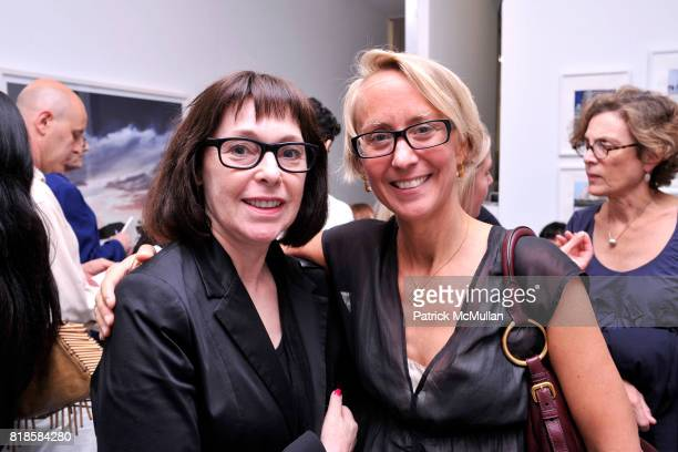 Roxanne Lowitt and Suzanne Donaldson attend James Danziger and David Strettell present a Book Signing by Ruth Ansel at Danziger Projects on June 17...