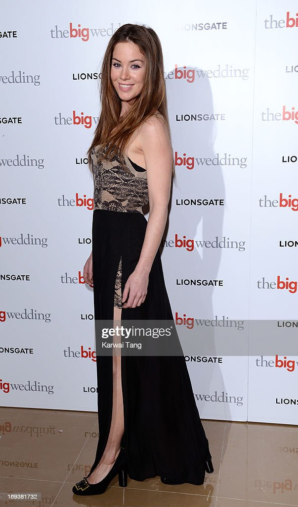 Roxanne McKee attends a special screening of 'The Big Wedding' at May Fair Hotel on May 23, 2013 in London, England.