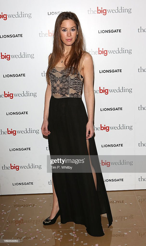 Roxanne McKee attends Special screening of 'The Big Wedding' at May Fair Hotel on May 23, 2013 in London, England.