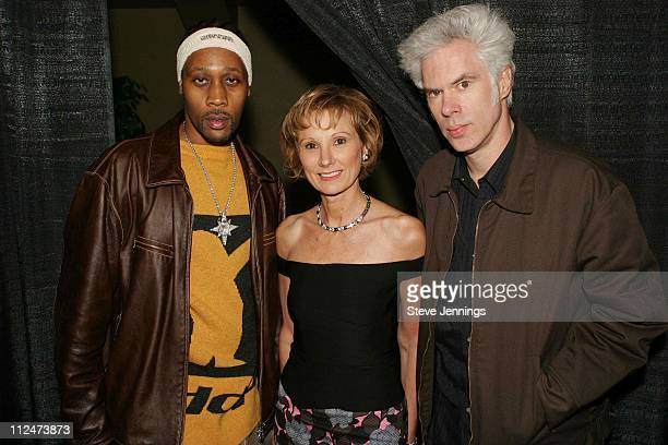 RZA Roxanne Messina Capter executive director of SF Film Society and Jim Jarmusch director