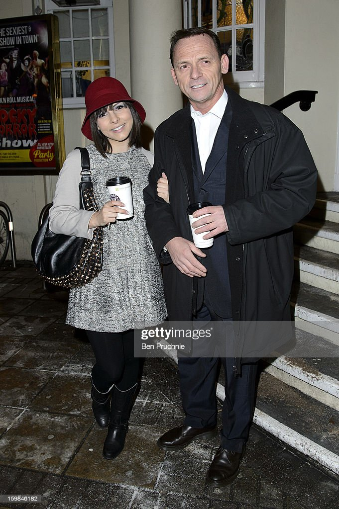 <a gi-track='captionPersonalityLinkClicked' href=/galleries/search?phrase=Roxanne+Pallett&family=editorial&specificpeople=626727 ng-click='$event.stopPropagation()'>Roxanne Pallett</a> and Perry Fenwick attends the opening night of The Rocky Horror Picture Show at New Wimbledon Theatre on January 21, 2013 in Wimbledon, England.