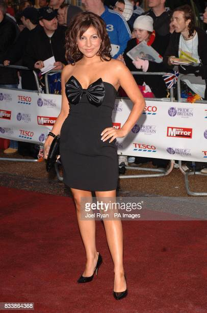 Roxanne Pallett arrives for the Pride of Britain Awards 2007 The London Studios Upper Ground London SE1