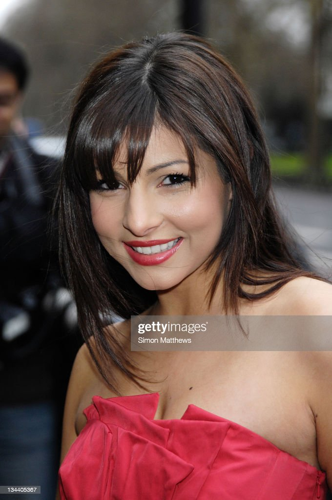 Roxanne Pallett arrives for The TRIC Awards 2008 at The Grosvenor House Hotel on March 11 2008 in London England