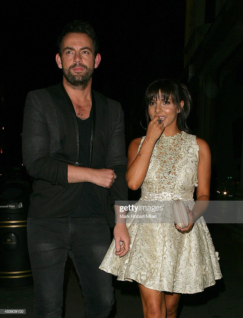Roxanne Pallett at Mahiki night club on August 21 2014 in London England