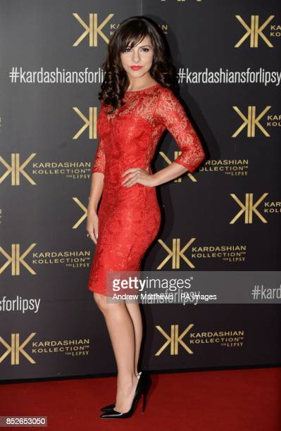 Roxanne Pallett attending the Kardashian Kollection For Lipsy launch party at the Natural History Museum London