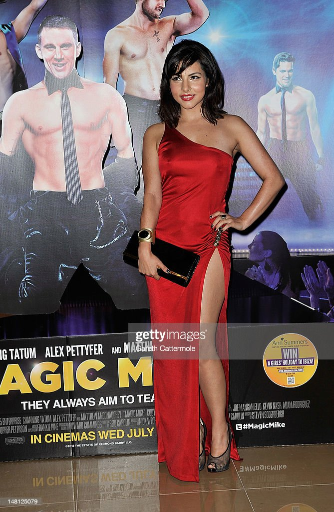 Roxanne Pallett attends the European premiere of Magic Mike at The Mayfair Hotel on July 10 2012 in London England