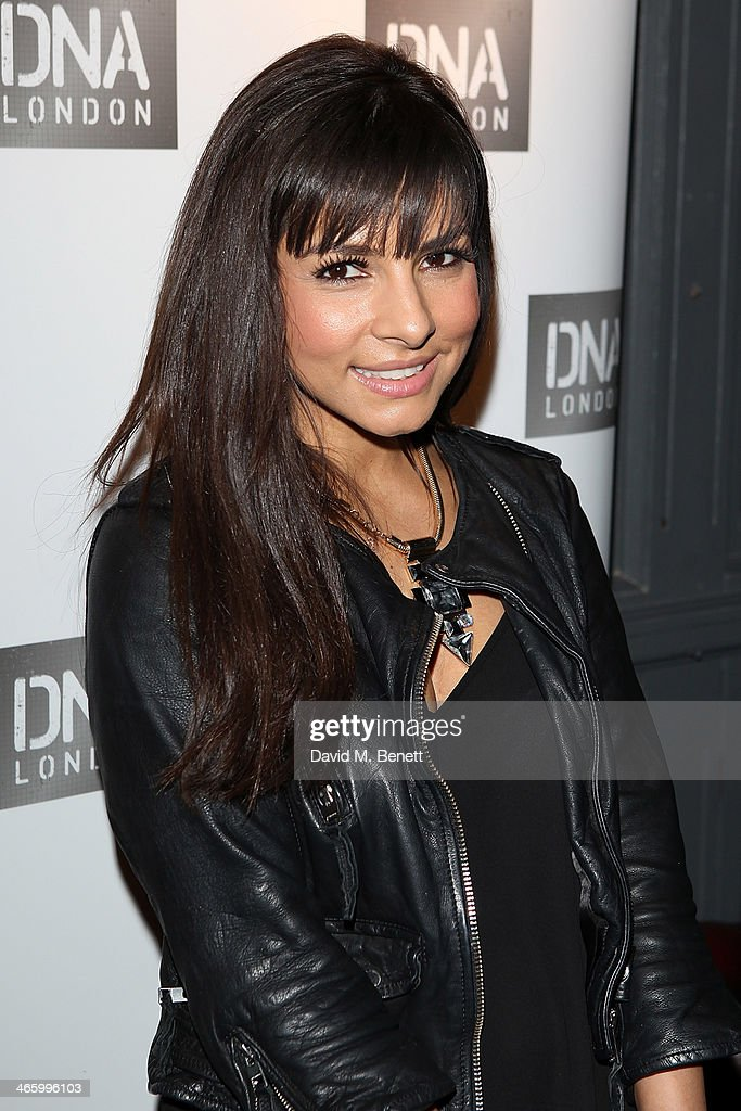 Roxanne Pallett attends the launch of DNA London on January 30 2014 in London England