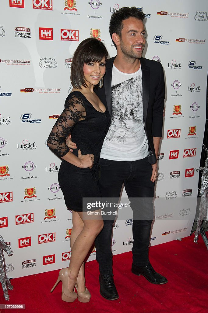 Roxanne Pallett attends the OK! Magazine Christmas Party at Sway on November 27, 2012 in London, England.